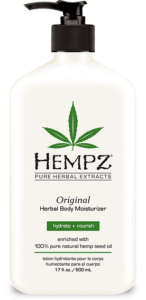 Get $5 off any facial or massage purchase this week when you buy a Hempz lotion here.